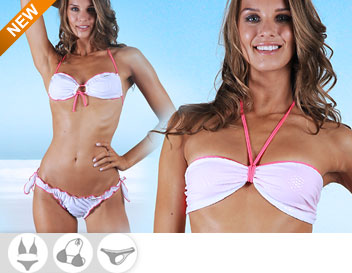Bikini Divissima primavera estate adrienne bianco