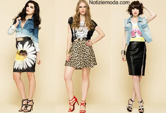Collezione gonne Artigli primavera estate 2014 moda donna