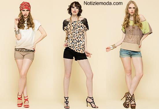 Tendenze shorts Artigli primavera estate 2014 moda donna