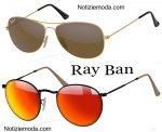 Occhiali-da-sole-Ray-Ban-accessori-uomo-donna