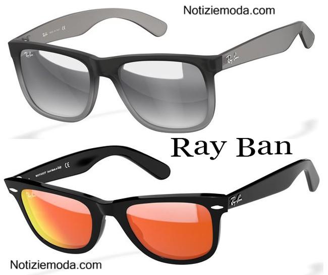 occhiali ray ban a specchio uomo