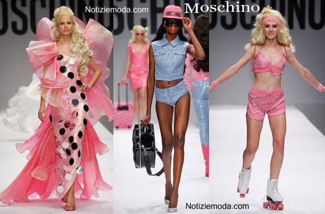 Collezione Barbie Moschino primavera estate 2015