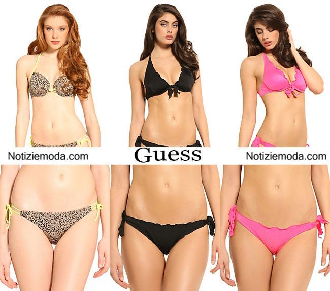 Moda mare guess estate 2015 costumi da bagno bikini - Bikini costumi da bagno ...