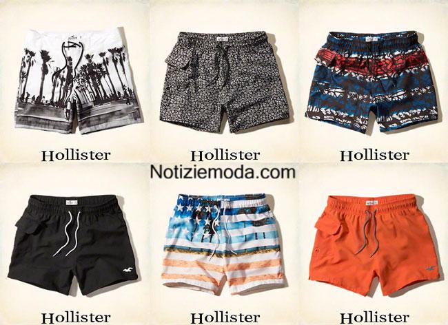 Moda mare hollister estate 2015 costumi da bagno shorts uomo - Costumi da bagno pantaloncino uomo ...