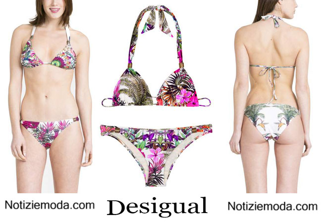 Costumi bikini desigual primavera estate 2015 - Desigual costumi da bagno ...
