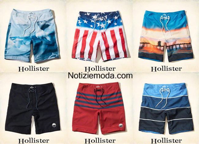 Hollister costumi uomo - Costumi da bagno pantaloncino uomo ...