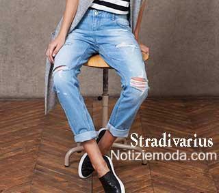 Denim Stradivarius autunno inverno 2015 2016 donna. Notizie moda  Stradivarius 2015 2016 8de918e4452
