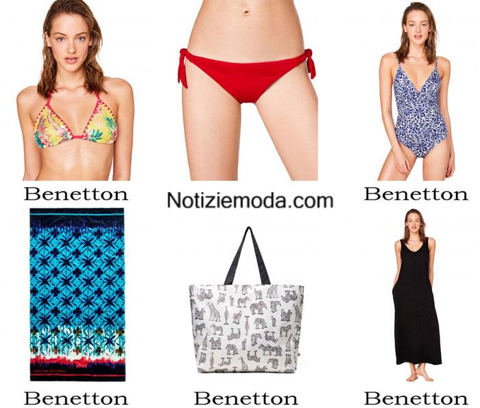 moda mare benetton estate 2017 costumi da bagno bikini