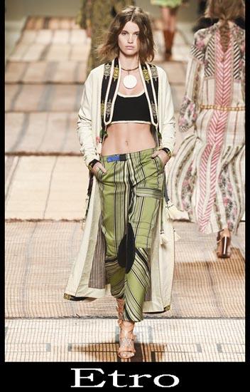 Moda Etro Primavera Estate Donna Look 4