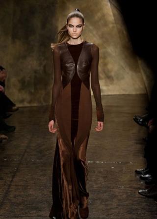 Donna Karan tendenze abbigliamento abiti autunno inverno per le donne look 2013-2014