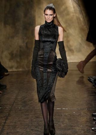 Donna Karan tendenze abbigliamento abiti moda donna autunno inverno 2013-2014