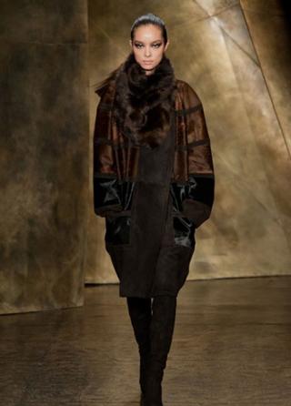 Donna Karan tendenze abbigliamento moda donna autunno inverno look 2013-2014