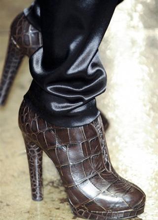 Donna Karan tendenze dello abbigliamento nuova collezione scarpe autunno inverno 2013-2014