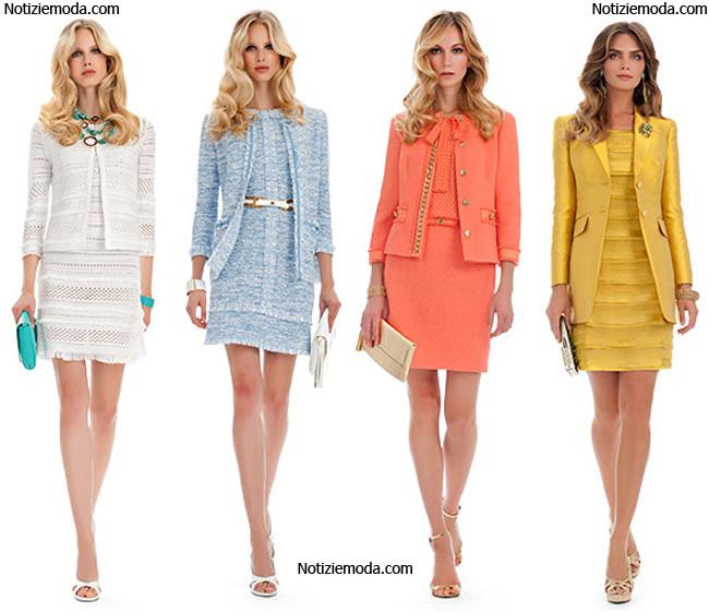 best service 5e02f 06a7f Luisa Spagnoli primavera estate 2014 collezione moda donna