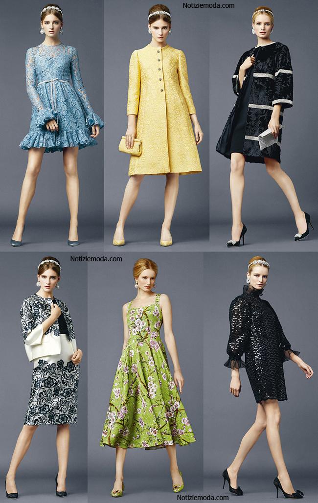 Abbigliamento Dolce Gabbana primavera estate 2014
