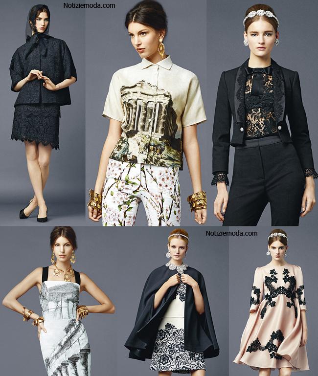 Accessori Dolce Gabbana primavera estate 2014 moda donna