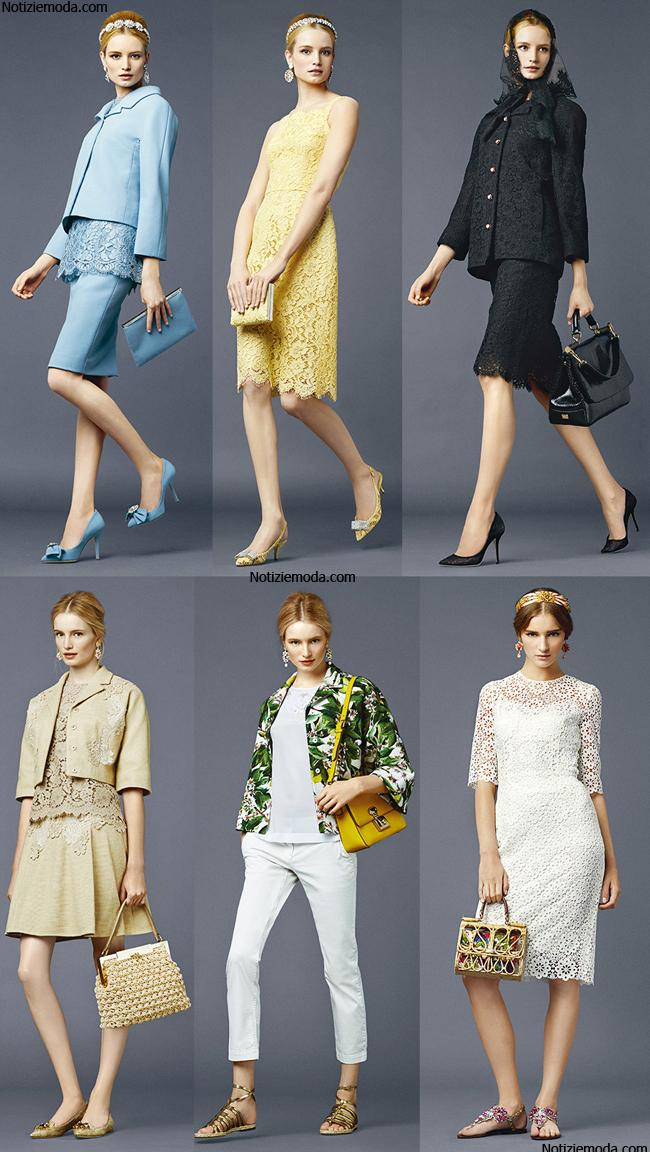 Borse Dolce Gabbana primavera estate 2014 abbigliamento donna