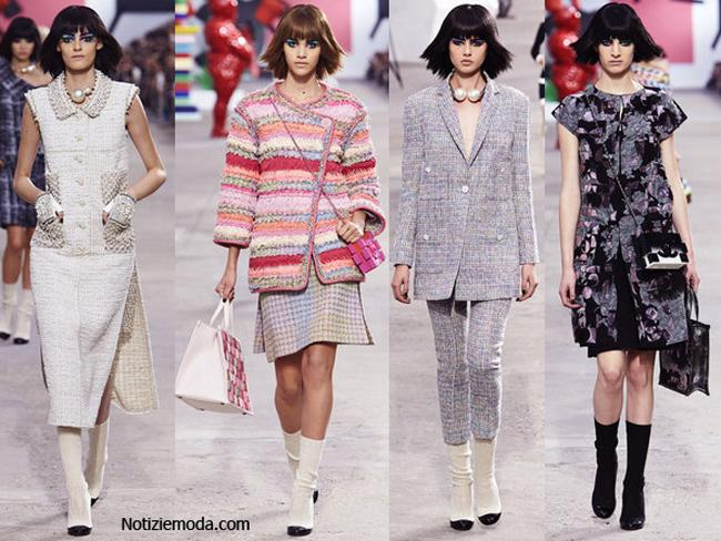 Collezione abbigliamento Chanel primavera estate 2014