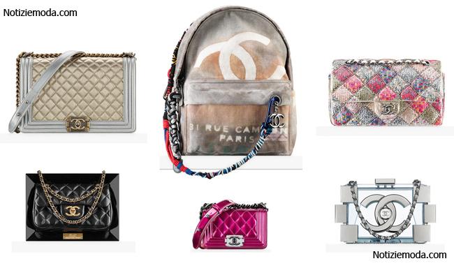 Collezione borse Chanel primavera estate 2014