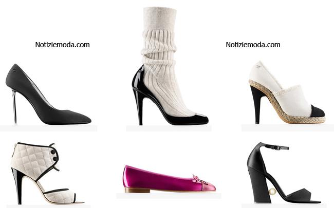 Collezione scarpe Chanel primavera estate 2014