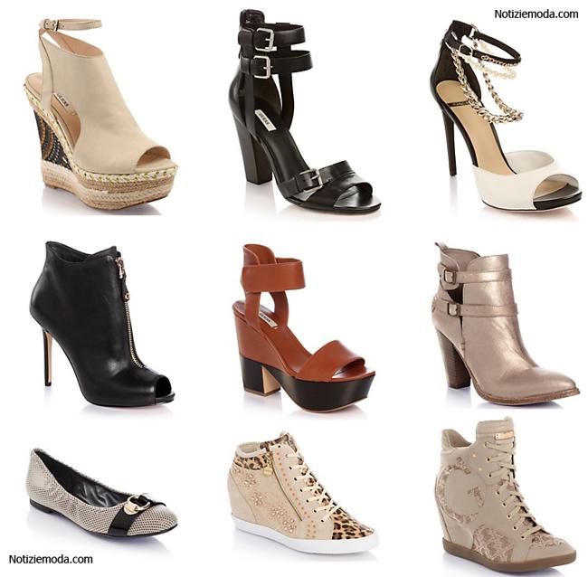 Collezione scarpe Guess primavera estate 2014