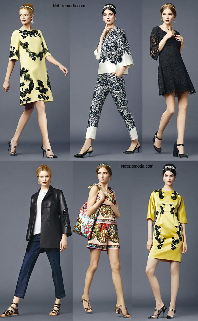 Scarpe Dolce Gabbana primavera estate 2014 abbigliamento donna
