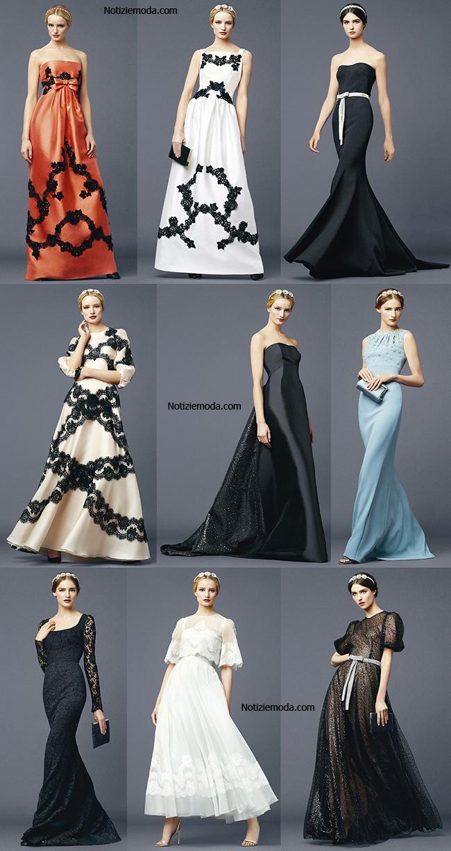 Tendenze abiti Dolce Gabbana primavera estate 2014 moda donna