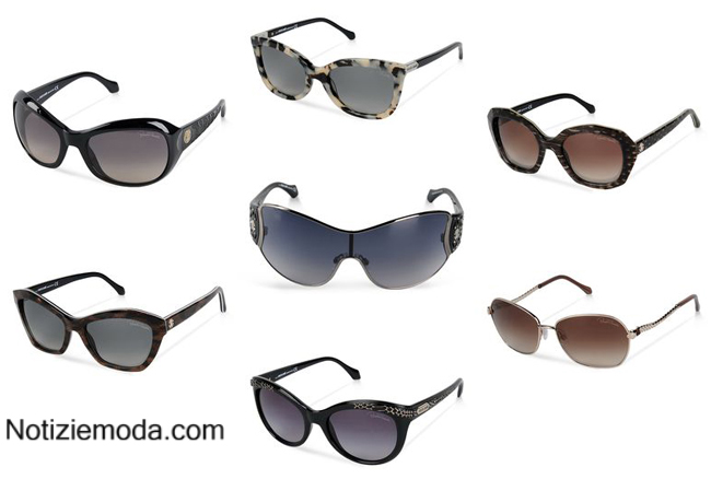 Accessori donna occhiali Roberto Cavalli primavera estate 2014