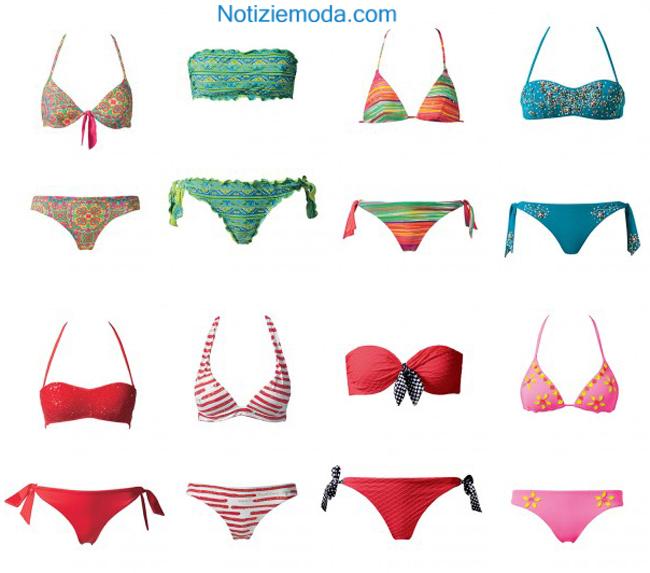 Bikini Calzedonia primavera estate 2014 moda mare donna