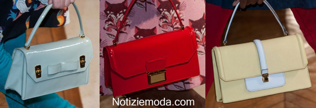 Borsetta Miu Miu primavera estate 2014 moda donna