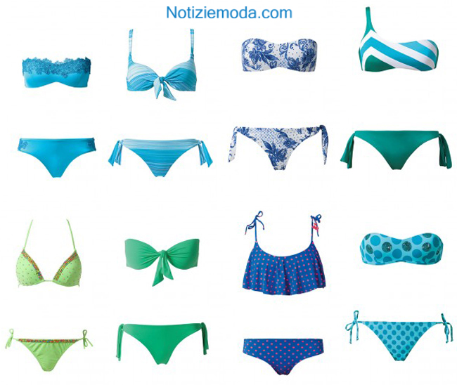 comprare on line c698a d2d47 Catalogo costumi Calzedonia primavera estate 2014