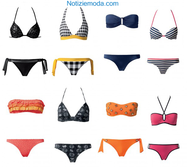 Catalogo moda mare Calzedonia primavera estate 2014 donna