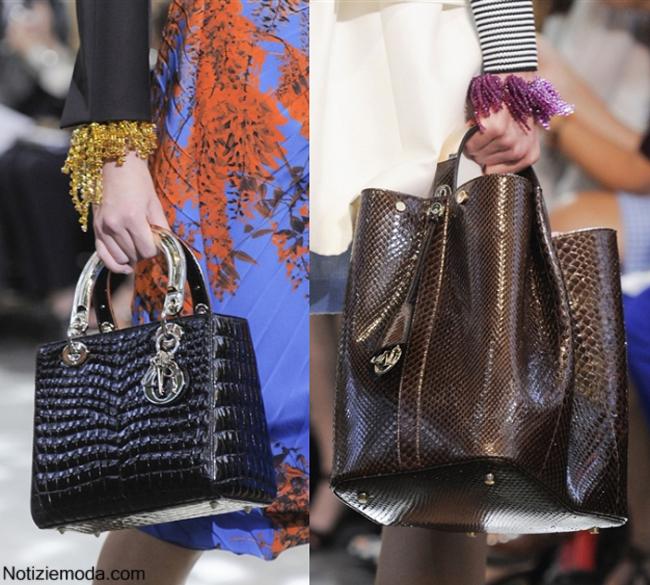 Collezione borse Christian Dior primavera estate 2014 moda donna