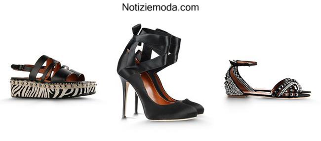Collezione scarpe Alberta Ferretti primavera estate 2014 moda donna
