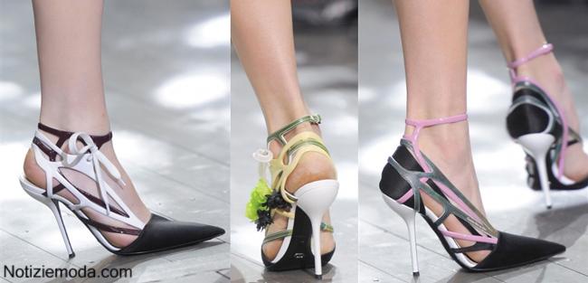 Collezione scarpe Christian Dior primavera estate 2014 moda donna
