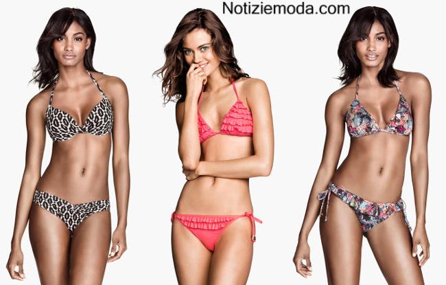 Costumi HM bikini 2014 accessori moda mare donna