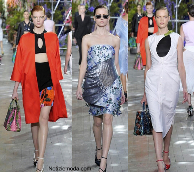 Look Christian Dior primavera estate 2014 moda donna