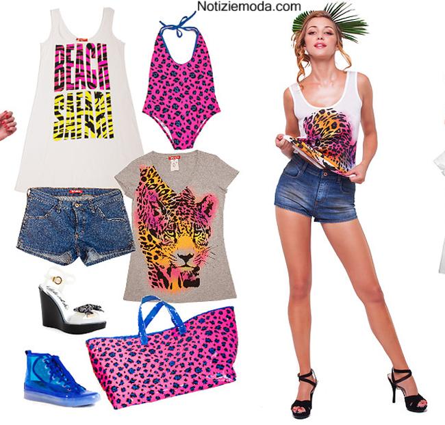 Look Fiorucci primavera estate 2014 abbigliamento donna