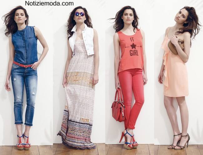 Look Motivi primavera estate 2014 moda donna