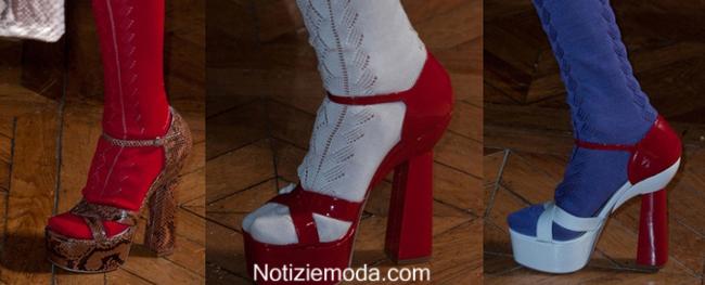 Sandali Miu Miu primavera estate 2014 moda donna look