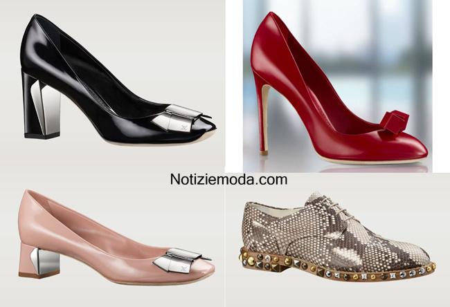 Scarpe Louis Vuitton primavera estate 2014 abbigliamento donna