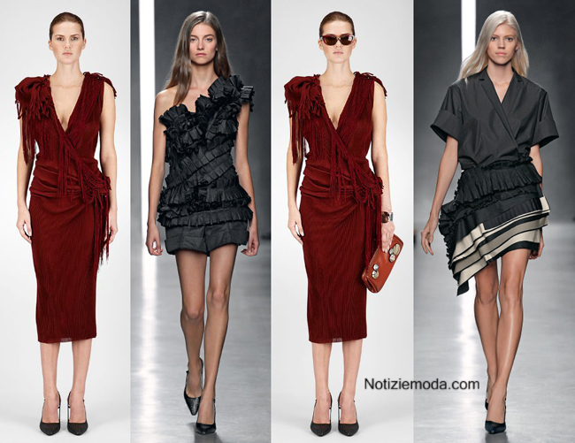Tendenze Bottega Veneta primavera estate 2014 donna