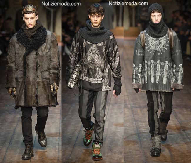 Accessori Dolce Gabbana autunno inverno 2014 2015 uomo