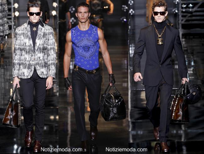 Accessori Versace autunno inverno 2014 2015 uomo