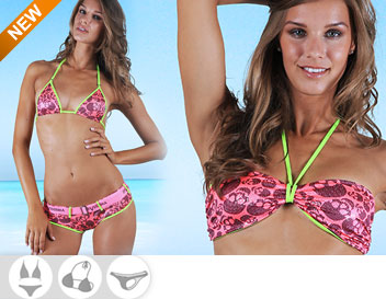 Bikini Divissima primavera estate avril fucsia