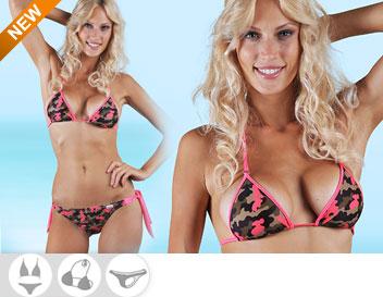 Bikini Divissima primavera estate cameron fucsia