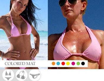 Bikini Divissima primavera estate colored mat