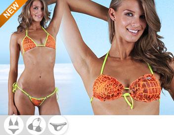 Bikini Divissima primavera estate ginger fluo arancio