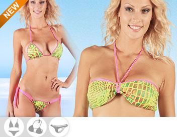 Bikini Divissima primavera estate ginger fluo giallo