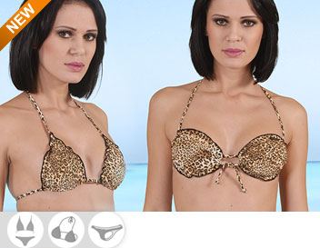 Bikini Divissima primavera estate leopardo